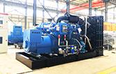 500kw玉柴燃气发电机组10台并机!
