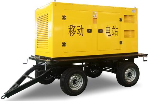 移动拖车发电机组